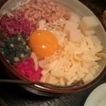 縁家 - 餅チーズ玉天(お好み焼き)