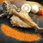 魚虎 - おこぜの唐揚げ