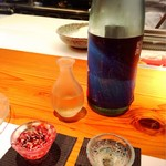 宮武 - 珍しくお茶が飲みたいぐらいでしたが日本酒を(笑)せっかくの日本酒に失礼だったな…(• ε •)
