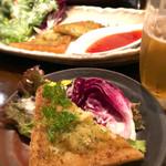 たご作 - 海老真丈の揚げパン スィートチリソース