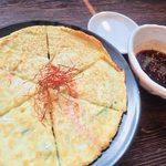 炭火焼肉 ホルモン酒場 金子増太郎 - 5種の野菜を入れて丁寧に焼き上げます。  特製ダレに絡ませてお召し上がりください。