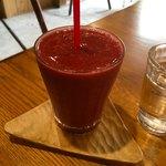 おしま屋KAGUカフェ - 紫のスムージー 450円