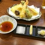 板場 - 天ぷら盛合せ