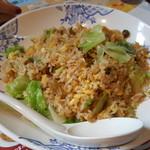 バーミヤン  - 料理写真:レタス炒飯