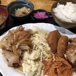 B級食堂 - 料理写真:♪本日のランチB¥918