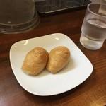 自家製麺中華そば 今里 - いなり(100円/2個)