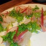 フレンチパンダ - 白身魚のカルパッチョ