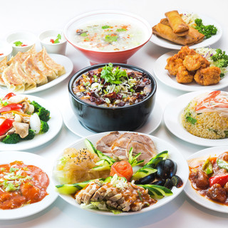80品以上の自慢の中華料理が勢ぞろい!宴会・歓送迎会に◎