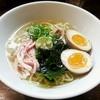 Chuukasobaibuki - 料理写真:【(限定) 冷やしイリコそば + 味付玉子】¥800 + ¥100