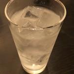 うなぎ処 古賀 - 芋焼酎のソーダ割り