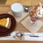 カフェ&ミール・ムジ - ケーキとパフェ