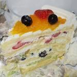 ハーブス - ・「フレッシュフルーツケーキ(¥1000)」