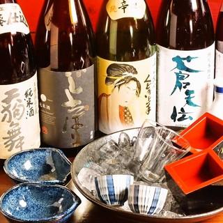 専属利き酒師が厳選している東北の地酒が旨い!