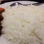 松屋 - ごろごろチキンのトマトカレーのライスアップ