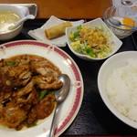 香蘭楼 - 日替わりランチ(油淋鶏)