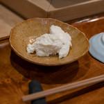 鮨 波づき - 2018.8 牛乳胡麻豆腐
