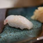 鮨 波づき - 2018.8 真鯛 塩