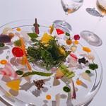 91427970 - 八ヶ岳の野菜を30種類以上使ったプレート