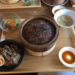 茶月譚 - 魯肉飯点心ランチ 1,280円