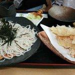 そば処ふでむら - 天ぷらざる蕎麦