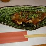 91430181 - 鶏タタキおろしポン酢 580円