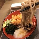 富士そば - 冷やしかき揚げ麺リフト