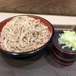 富士そば - もり蕎麦2枚