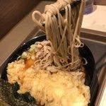 富士そば - 麺リフト