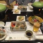 銘石の宿 かげつ - 料理写真:夕食