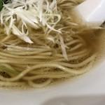 中華そば ユー リー - 麺