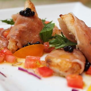 イタリアン×フレンチの融合◆四季折々の食材で彩り豊かに。