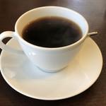 ダイニング フフフ - 本日はホットコーヒーです