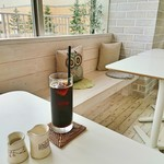モン ボン カフェ - セットドリンク(アイス珈琲)