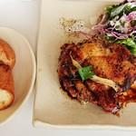 モン ボン カフェ - 料理写真:シンガポールチキンプレート 1,188円