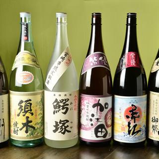 逸品尽くしの肴と共に愉しむ日本酒◎乙な時間までご堪能あれ。