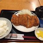 ぎおん亭 - 鶏カツ定食 (180g) 720円