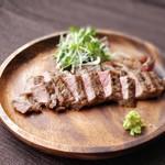 ど根性キッチン - サーロインステーキ