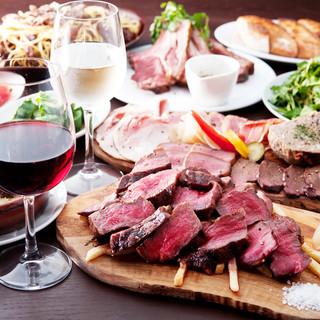 【パーティー】他とは違う上質な熟成肉料理をコースで堪能