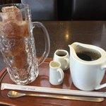 迎賓館 - アイスコーヒー450円