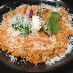 お米料理 リゾット☆スター - 10種野菜のトマトリゾット