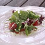 レストラン ル・プラトー - 信州野菜のフレッシュサラダ