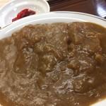 山福食堂 - ミニカツカレー550円