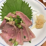 やじろべゑ - 豚タン刺身