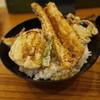板前割烹 真亜房 - 料理写真:2011/8 活け穴子天丼