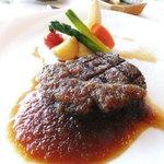 万座プリンスホテル - オーストラリア産牛フィレ肉の網焼き
