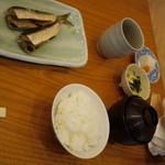 板前割烹 真亜房 - 2011/8 鰯昼定食