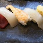寿司割烹 海王 - にぎり5貫