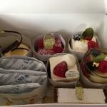 シャンドワゾー - 6個のケーキ