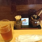 91452972 - 冷え冷えの麦茶(>_<)