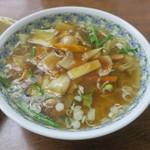 湯ったり館 - 肉あんかけラーメン(¥860)
